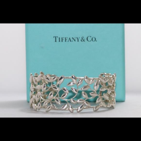 Tiffany & Co. Jewelry - Tiffany & Co Paloma Picasso Olive Leaf Cuff